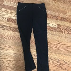 EUC Black stretch pants/leggings. Size 4.